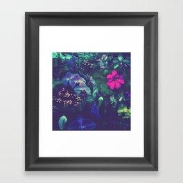 Gathering of Flowers - [Purple Version] Framed Art Print
