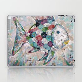 Rainbow Fish Collage Laptop & iPad Skin