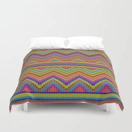 ziggy-zag x-dust Duvet Cover