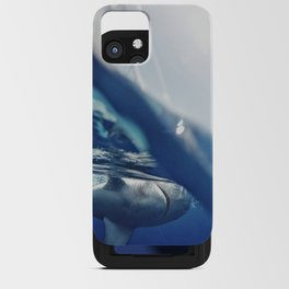 Shark on the Surface iPhone Card Case