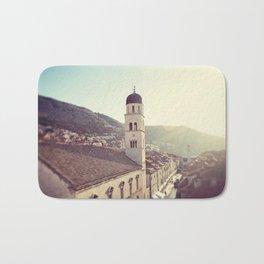 Belltower in Dubrovnik Bath Mat