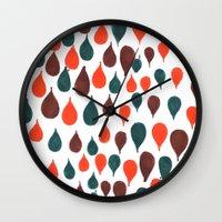 baloon Wall Clocks featuring Baloon by kartalpaf