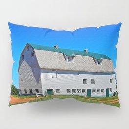 Beautiful Barn under Blue Sky Pillow Sham