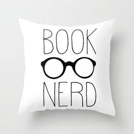 BookNerd Throw Pillow
