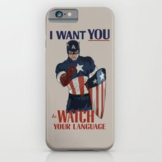 I want you to watch your language iPhone 6s Slim Case