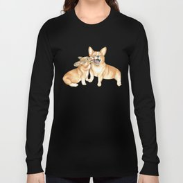 Corgi and Bess Long Sleeve T-shirt