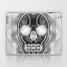Black skull Laptop & iPad Skin