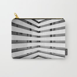 Folded Lines Carry-All Pouch