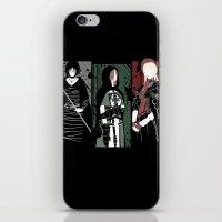 dark souls iPhone & iPod Skins featuring Souls Waifus by Shadyfolk
