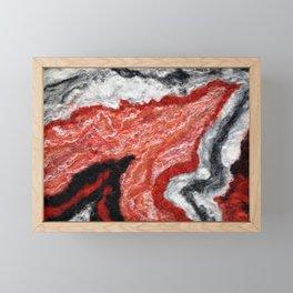 Circle Fire - FELT Expressions Framed Mini Art Print