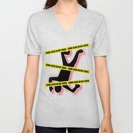 Crime Scene Unisex V-Neck