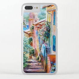 Colors of Collioure, France Clear iPhone Case