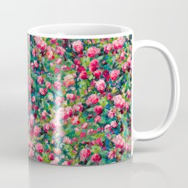 Rose Romance Pattern Coffee Mug