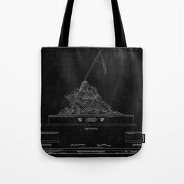 Marines Corps Memorial 2 Tote Bag