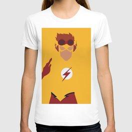 Wally West Minimalism T-shirt