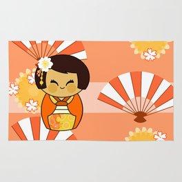 Kokeshi Momo Rug
