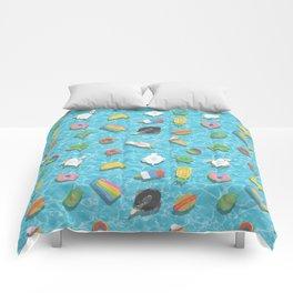 Pool floaties Comforters