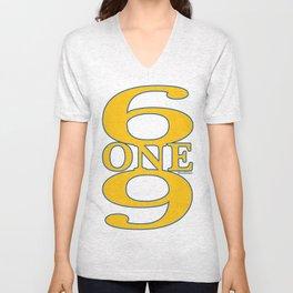 6ONE9 (619) Unisex V-Neck