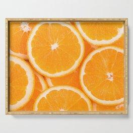 Juicy Oranges Serving Tray