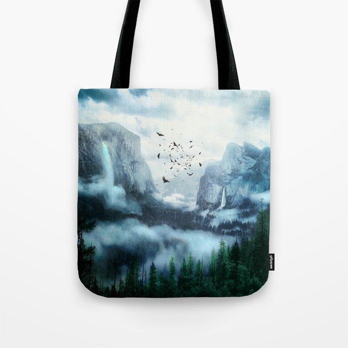 Mountain Morning 3 Tote Bag