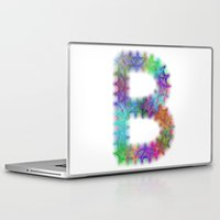 letter Laptop & iPad Skins featuring Letter B by David Zydd