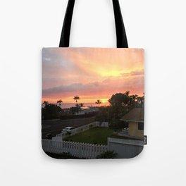 Setting Sun 2 Tote Bag