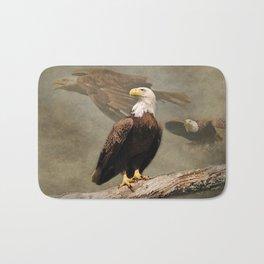 Dreaming of Freedom Bald Eagle Bath Mat
