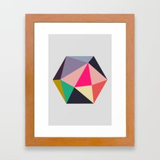 Hex series 1.4 Framed Art Print