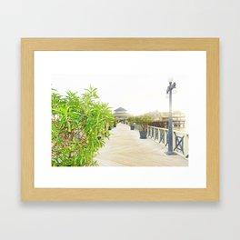 La Rosa Nautica - Lima, Peru Framed Art Print