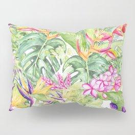 Tropical Garden 1A #society6 Pillow Sham