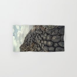 Giant's causeway  at dawn Hand & Bath Towel