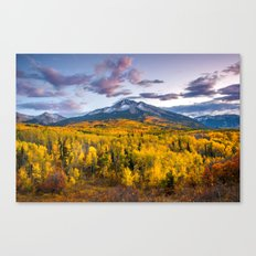 Chasing The Gold Canvas Print