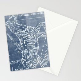 Mechanical Horse Stationery Cards
