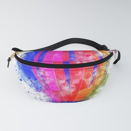 Air Balloons Bright Color Fanny Pack