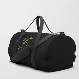 Get Naked, Gold Funny Sexy Quote Duffle Bag