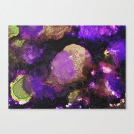 Geode II, Ametrine Canvas Print