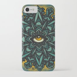 Mandala Eye - Color Variant 1 iPhone Case