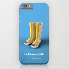 The Uncomfortable Rainboots in a blue background Slim Case iPhone 6s