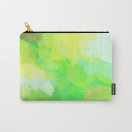Colorful Abstract - green pattern, forest, nature Carry-All Pouch