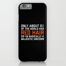 Red Hair Funny Quote iPhone 6s Slim Case