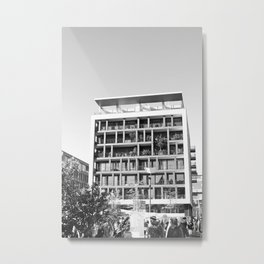 The House Metal Print