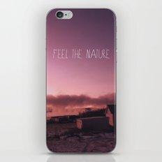 Feel the Nature iPhone & iPod Skin