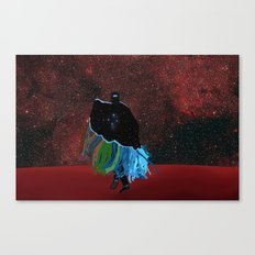 Dancing On Mars Canvas Print