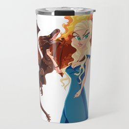 Queen D Travel Mug