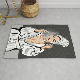 Breathe and take it in Rug