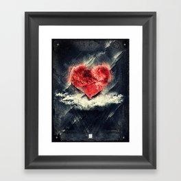 Tan Vacio Framed Art Print