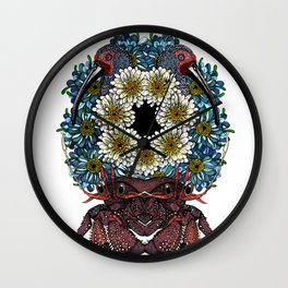 Supersymmetry Wall Clock
