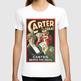 Carter The Great Magician Poster T-shirt