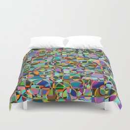 Emergence Refraction Duvet Cover