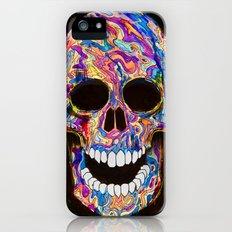 Chromatic Skull 02 Slim Case iPhone (5, 5s)